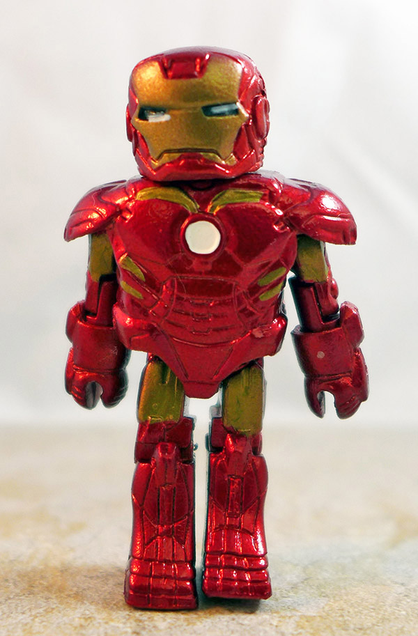 Mark IV Iron Man Loose Minimate (Marvel Iron Man Hall of Armor Box Set)
