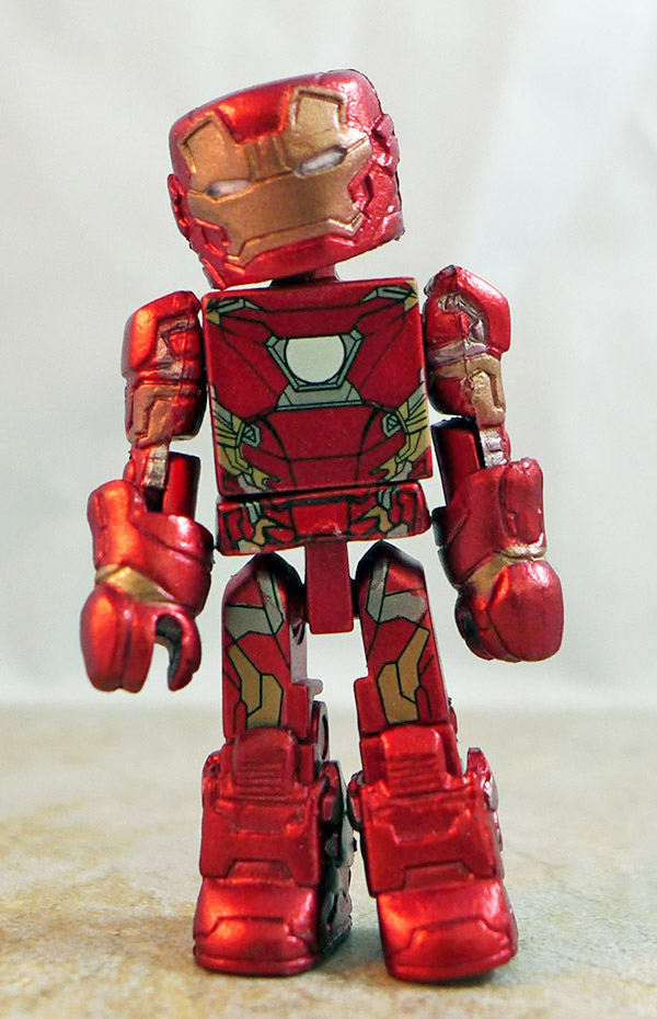 Iron Man Mark 46 Partial Loose Minimate (Marvel Wave 66)
