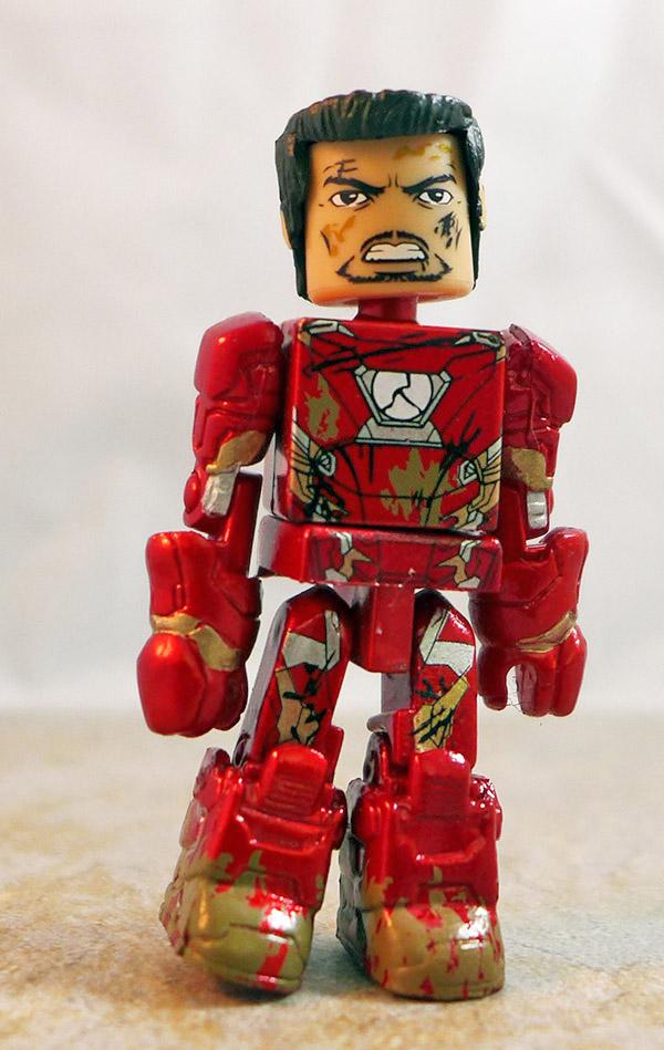 War-Torn Iron Man Partial Loose Minimate (Marvel Wave 67)