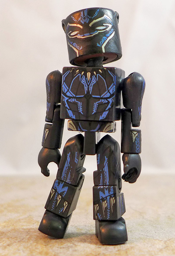 Powered Up Black Panther Partial Loose Minimate (Marvel Walgreens Black Panther Two Packs)