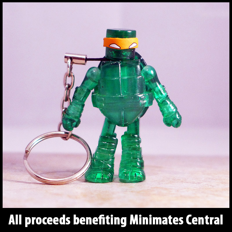 Mutagen Michelangelo Partial Loose Minimate (MISSING NUNCHUCKS)