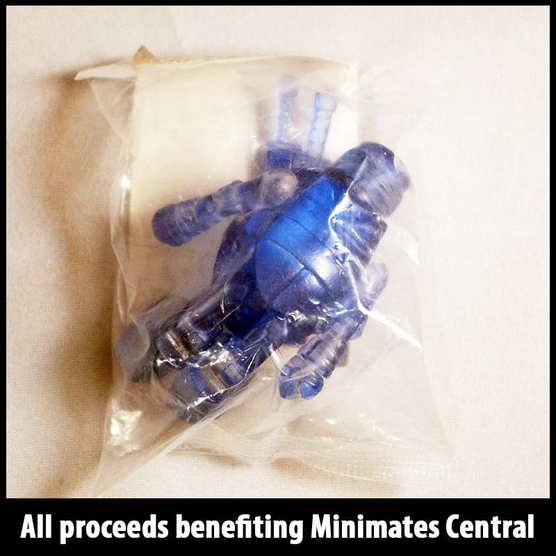 SDCC 2014 Translucent Blue Leonardo Minimate (New in bag)