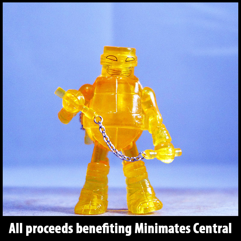SDCC 2014 Translucent Orange Michelangelo Loose Minimate