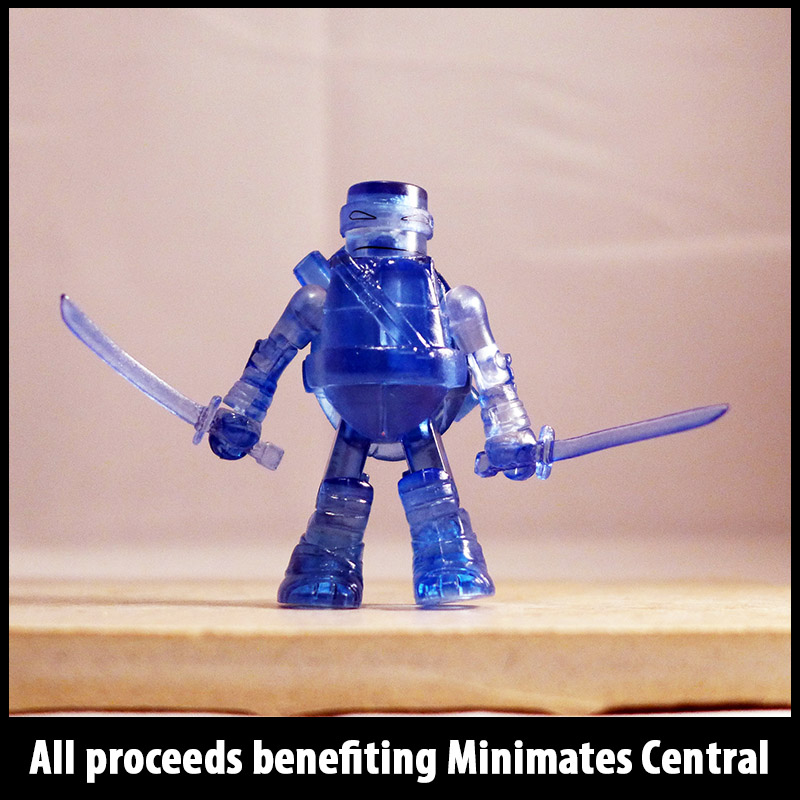 SDCC 2014 Translucent Blue Leonardo Loose Minimate