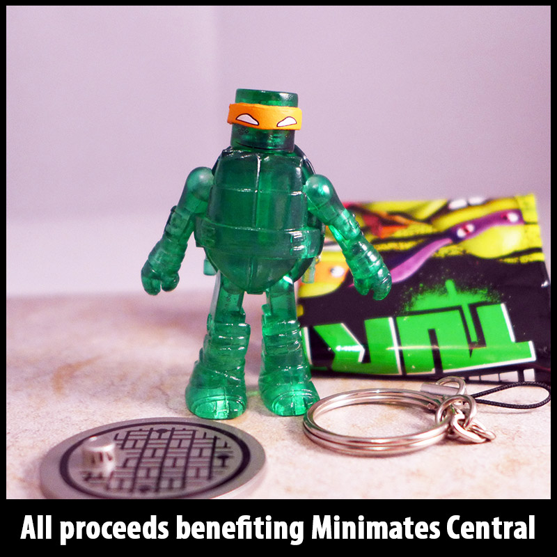 Mutagen Michelangelo Loose Minimate (includes nunchucks)