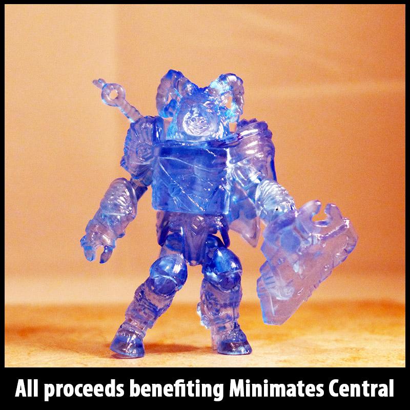 SDCC 2012 Translucent Blue Vorin Battle Beasts Loose Minimate