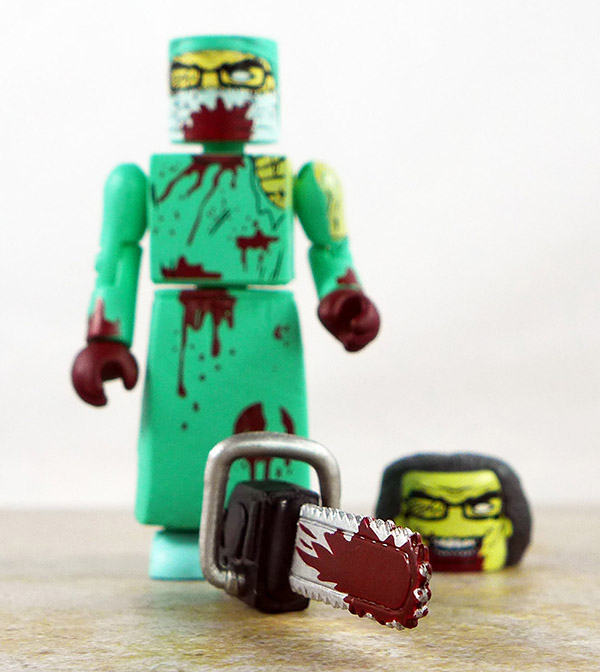 Zombie Surgeon Loose Minimate (Maximum Zombies 2011 NYC Two Pack)