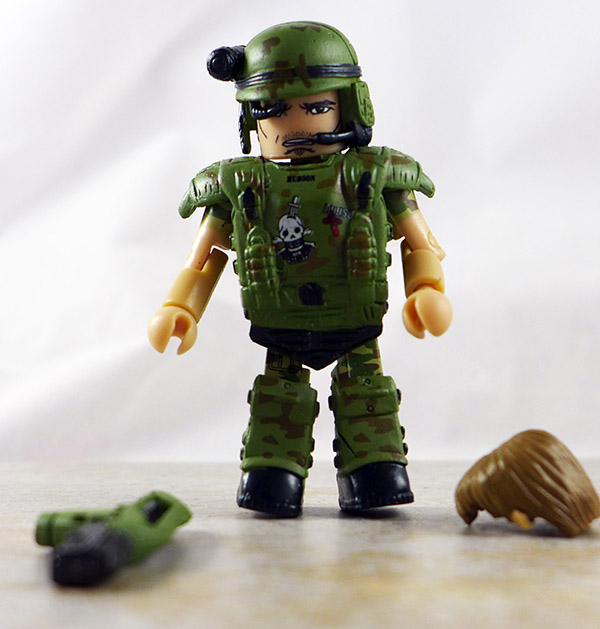 Pvt. Hudson Partial Loose Minimate (Aliens Series 2)