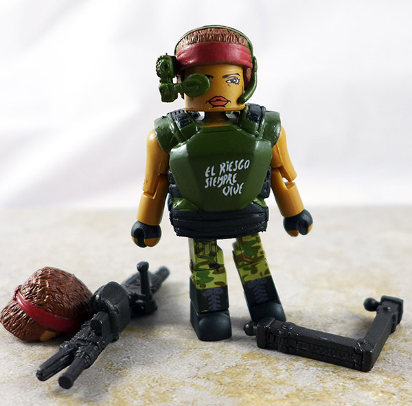 Pvt. Vasquez Loose Minimate (Aliens Series 2)