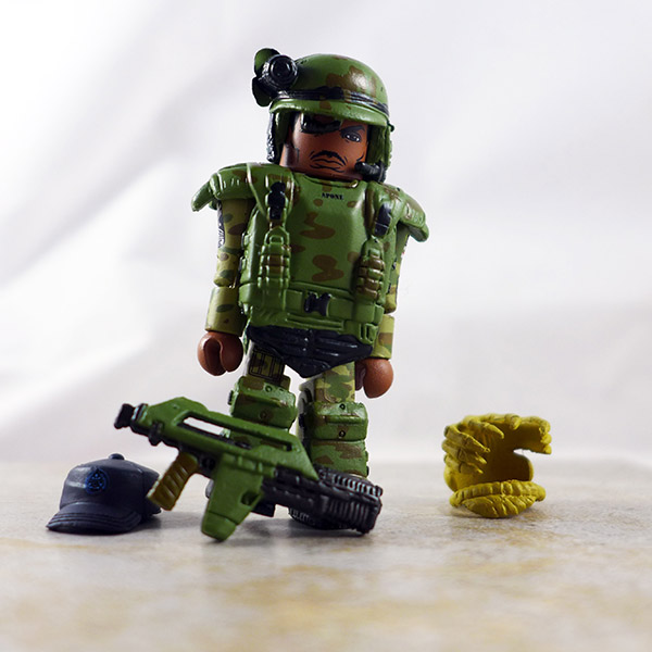 Sgt. Apone Partial Loose Minimate (Alien Series 1)