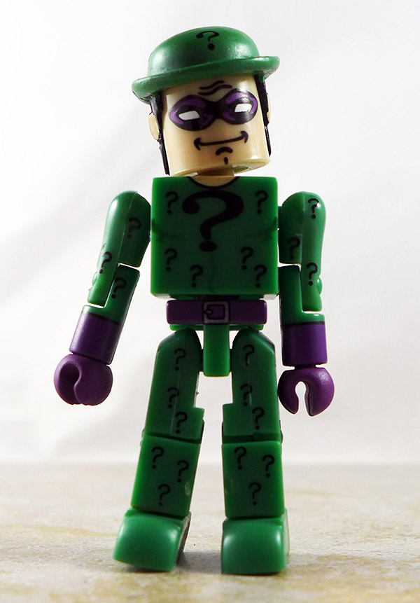 Riddler Partial Loose Minimate (DC C3 Mini Flyers)