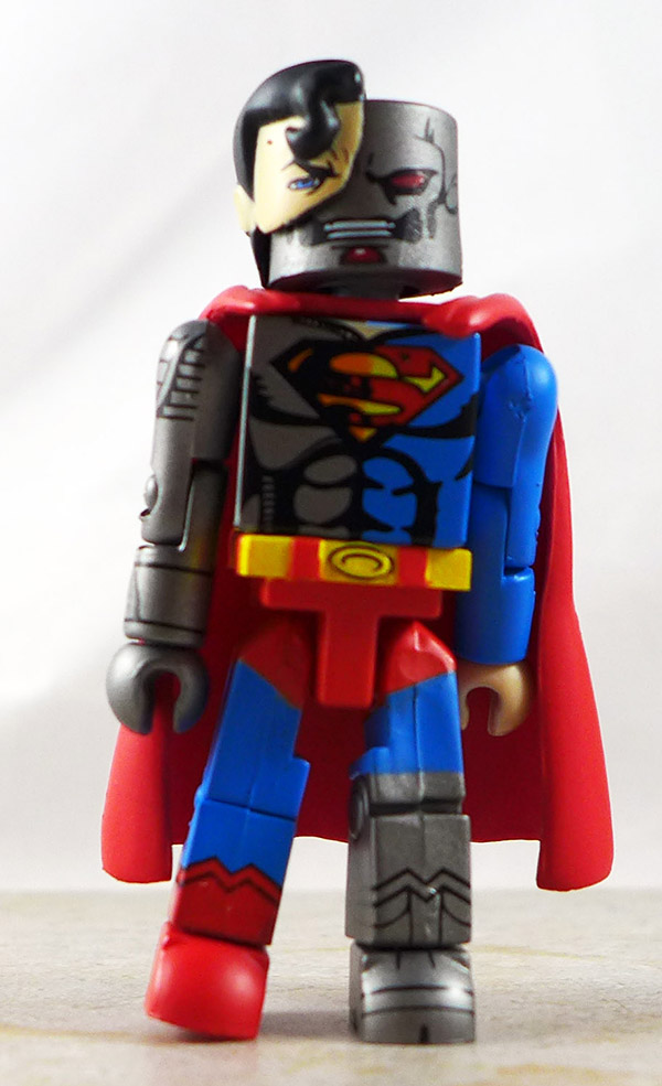 Cyborg Superman Loose Minimate (DC Series 4)