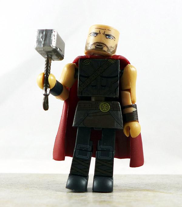 Roadworn Hero Thor Partial Loose Minimate (Marvel Walgreens Thor: Ragnarok Two Packs)