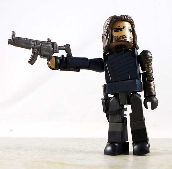 Winter Soldier Partial Loose Minimate (Marvel Infinity War Box Set)