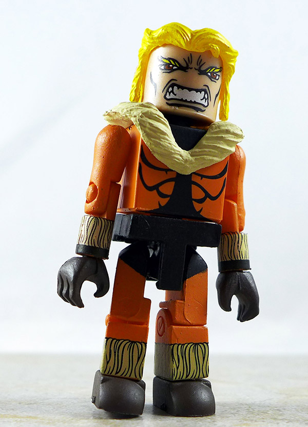 First Appearance Sabretooth Loose Minimate (Marvel Wave 28)