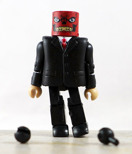 Red Skull Partial Loose Minimate (Marvel Wave 25)