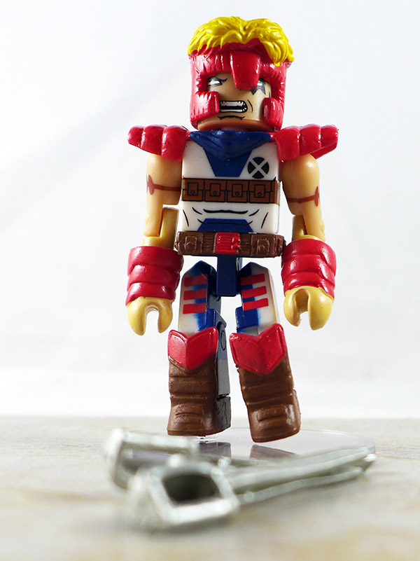 Warrior Shatterstar Loose Minimate (Marvel X-Force Box Set)