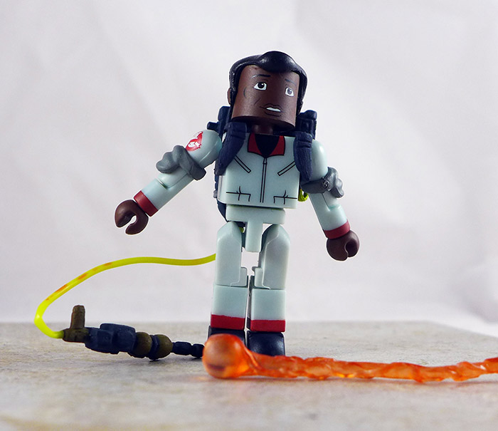 Winston Zeddemore Loose Minimate (Real Ghostbusters Box Set Series 2)