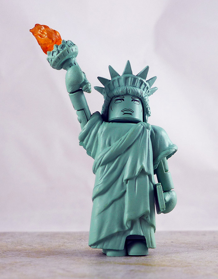 Statue of Liberty Loose Minimate (Ghostbusters TRU Series 4)