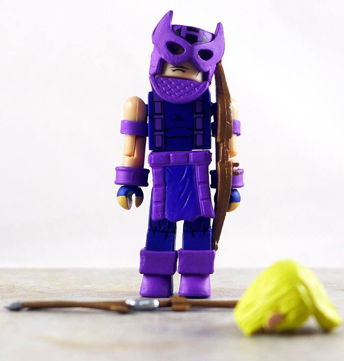 Classic Hawkeye Loose Minimate (Marvel 'Best Of' Wave 3)