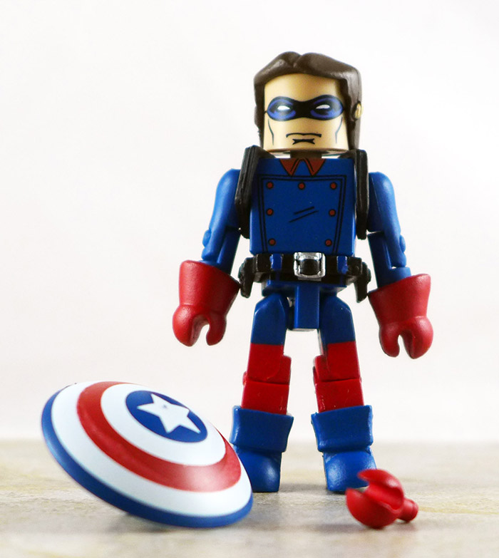 Bucky Loose Minimate (Marvel Invaders Box Set)