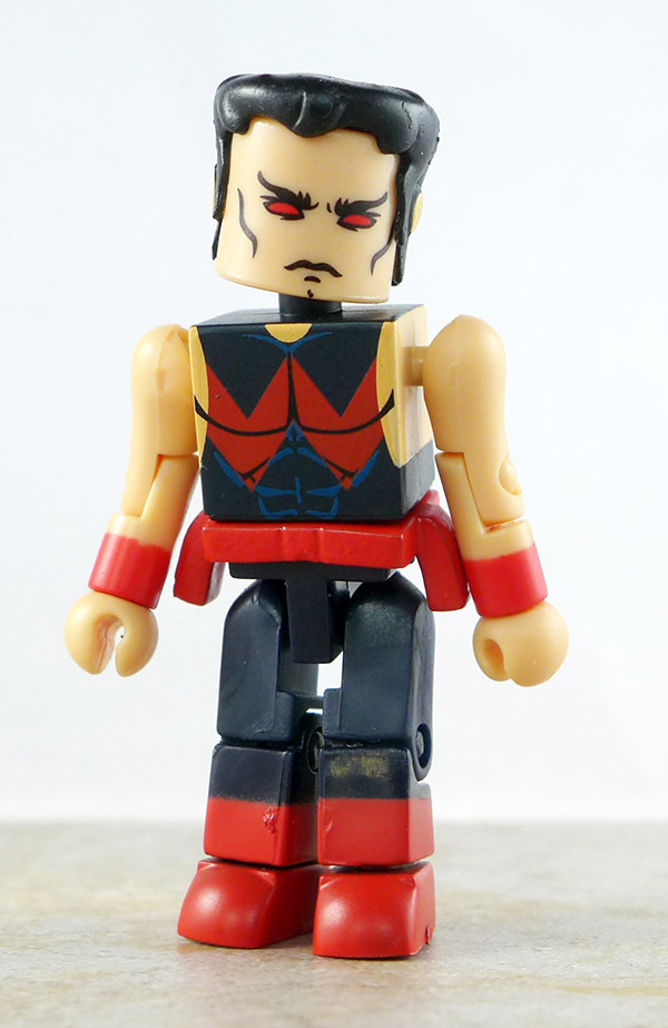 Custom Wonder Man Loose Minimate (Marvel Wave 16)