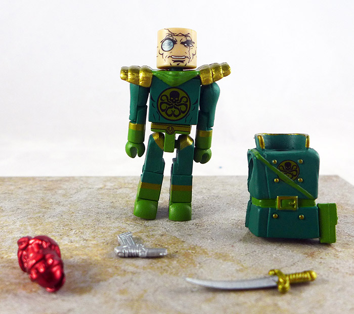Baron Strucker Loose Minimate (Marvel Wave 54)