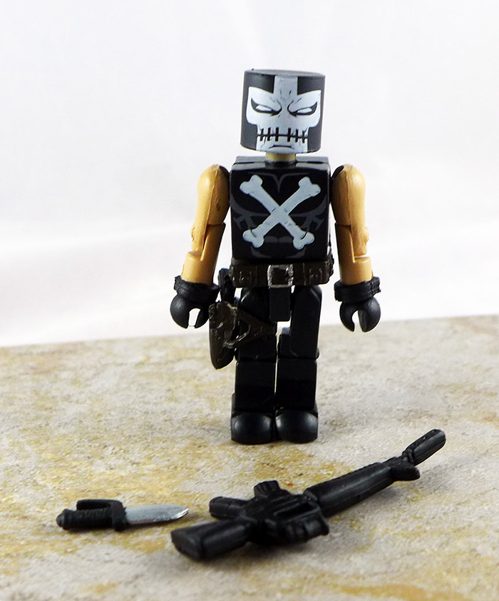 Crossbones Partial Loose MInimate (Marvel TRU Wave 12)