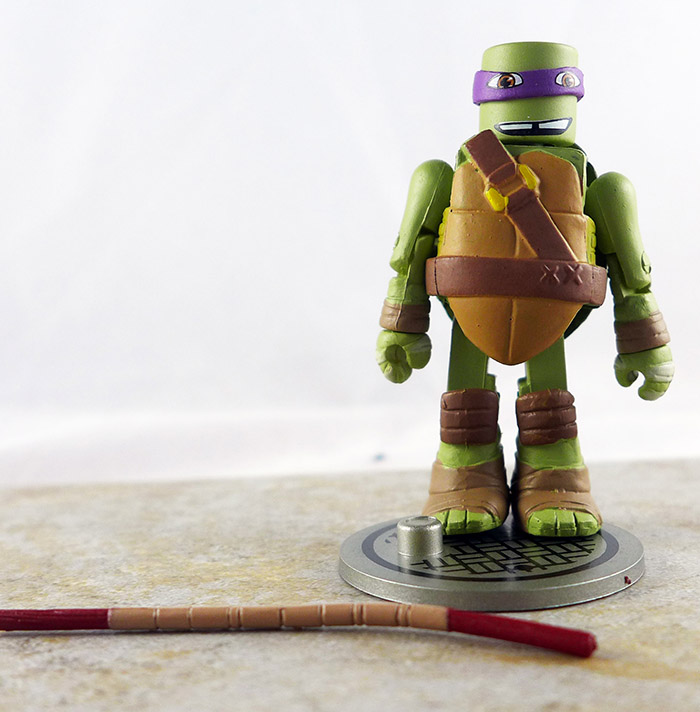 Donatello Loose Minimate (TMNT TRU Series 1)