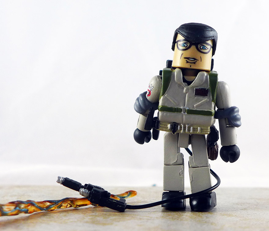 Ghostbusters 2 Louis Tully Loose Minimate (Ghostbusters TRU Series 2)