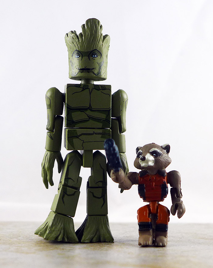 Groot and Rocket Loose Minimate (Marvel Walgreens Wave 1)