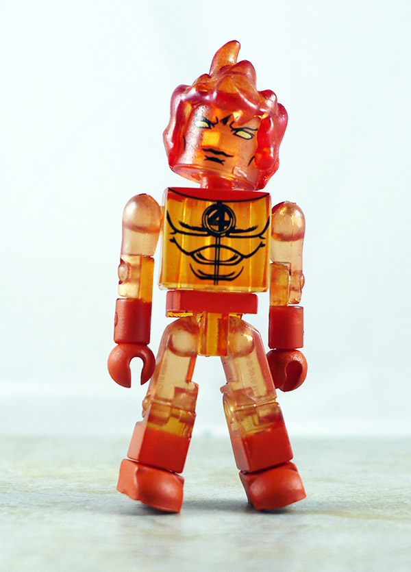 Human Torch Partial Loose Minimate (Marvel TRU Wave 8)