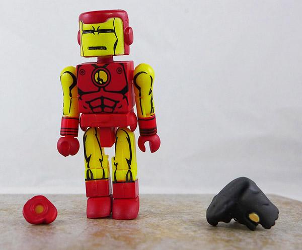 Iron Man Loose Minimate (Marvel Wave 6)