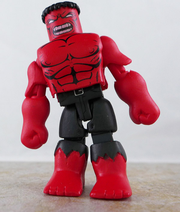 Red Hulk Loose Minimate (Marvel vs. Capcom SDCC Box Set)