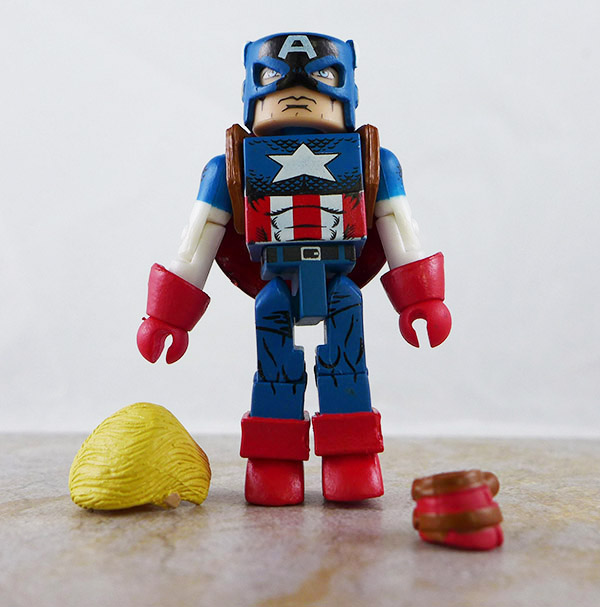 Captain America Loose Minimate (Marvel Avengers Box Set (Cap))