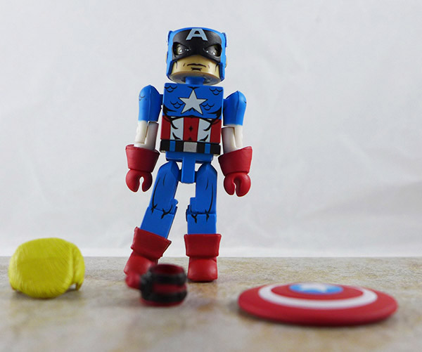 Captain America Loose Minimate (Marvel 'Best of
