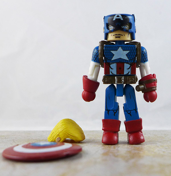 Reborn Captain America Loose Minimate (Marvel Captain America Through the Ages Box Set)