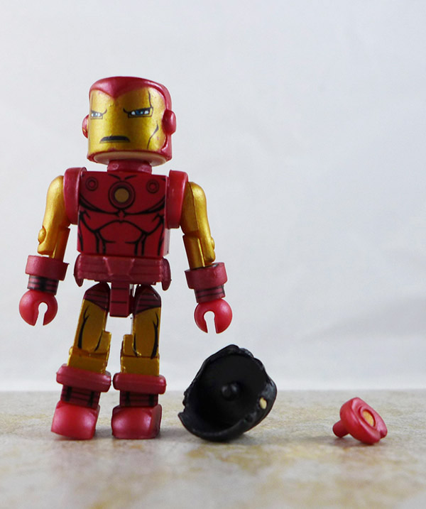 Classic Iron Man Loose Minimate (Marvel Wave 25)