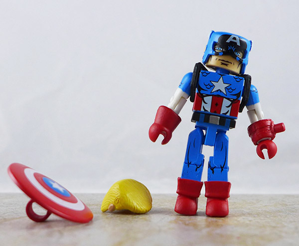 Captain America Loose Minimate (Marvel Classic Heroic Age Box Set)