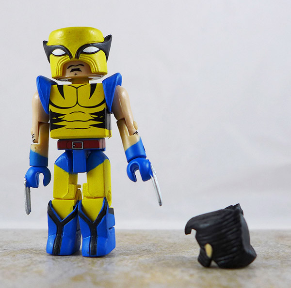 Wolverine Partial Loose Minimate (Marvel Secret Invasion Box Set)