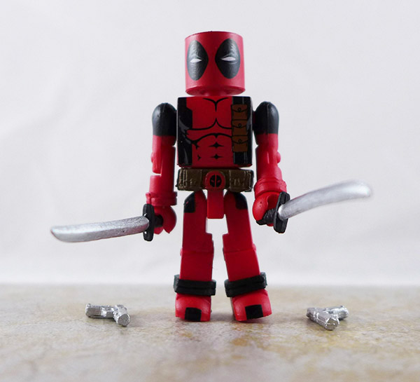Deadpool Loose Minimate (Marvel vs. Capcom Wave 1)