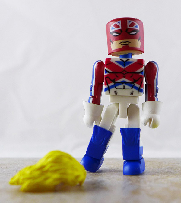 Captain Britain Loose Minimate (Marvel Wave 31)