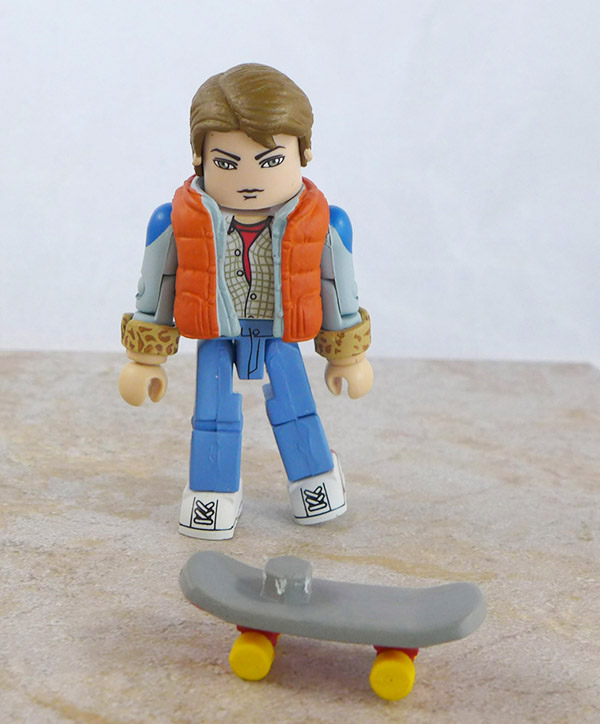 Marty McFly Loose Minimate (Back to the Future Box Set)