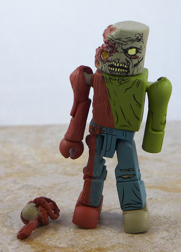 One-Eyed Zombie Loose Minimate (Walking Dead Wave 2)