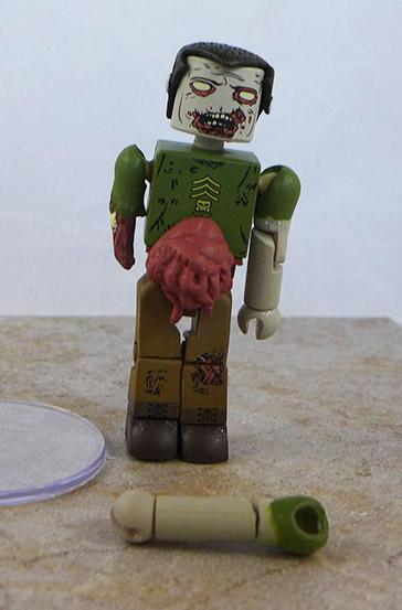 Military Zombie Loose Minimate (Walking Dead TRU Wave 5)