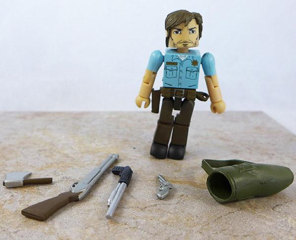 Officer Rick Grimes Partial Loose Minimate (Walking Dead Wave 1)
