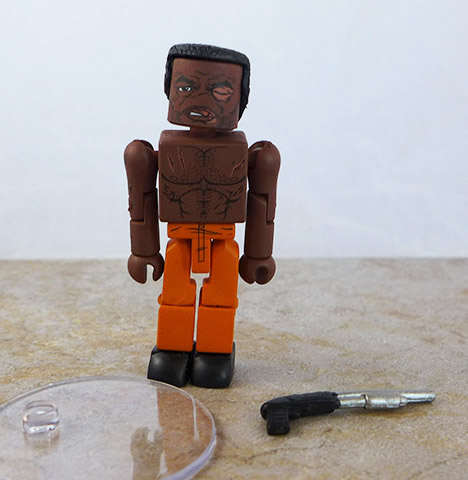 Battle Damaged Tyreese Loose Minimate (Walking Dead Wave 3)