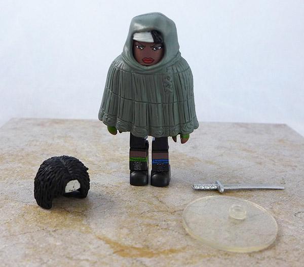 Hooded Michonne Loose Minimate (Walking Dead Wave 4)