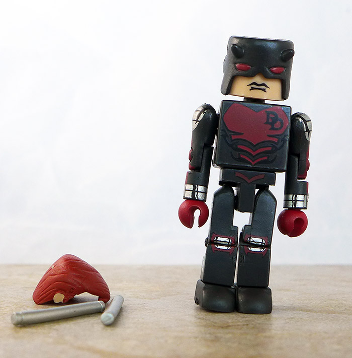 Armored Daredevil Loose Minimate (Marvel Wave 29)
