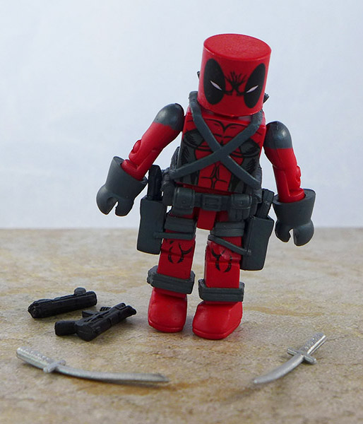 First Appearance Deadpool Loose Minimate (Marvel X-Force Box Set)
